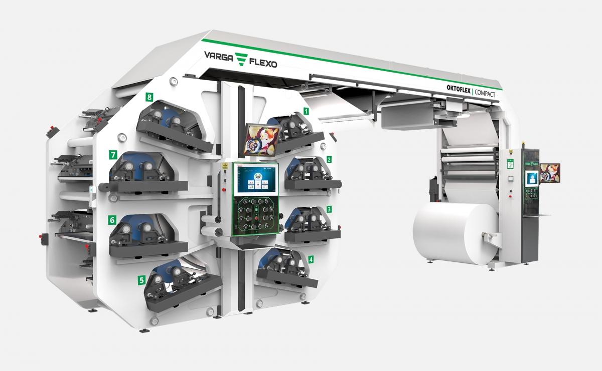 Flexonyomógépek, tekercsvágók, laminálók gyártása | Flexonyomómű