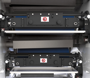 Flexonyomógépek, tekercsvágók, laminálók gyártása | Rákelkamra és festékfelhordás