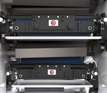 Flexonyomógépek, tekercsvágók, laminálók gyártása | Raklová komora a nanesenie farby