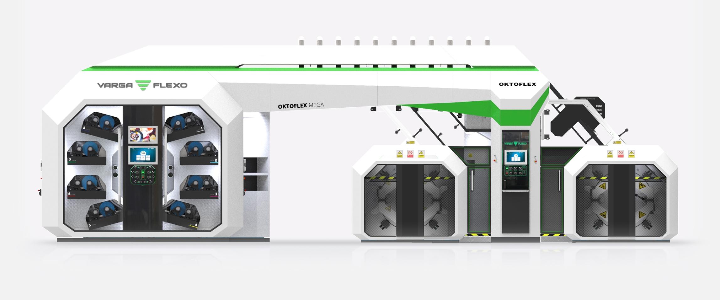 Flexonyomógépek, tekercsvágók, laminálók gyártása   Flexo printing unit