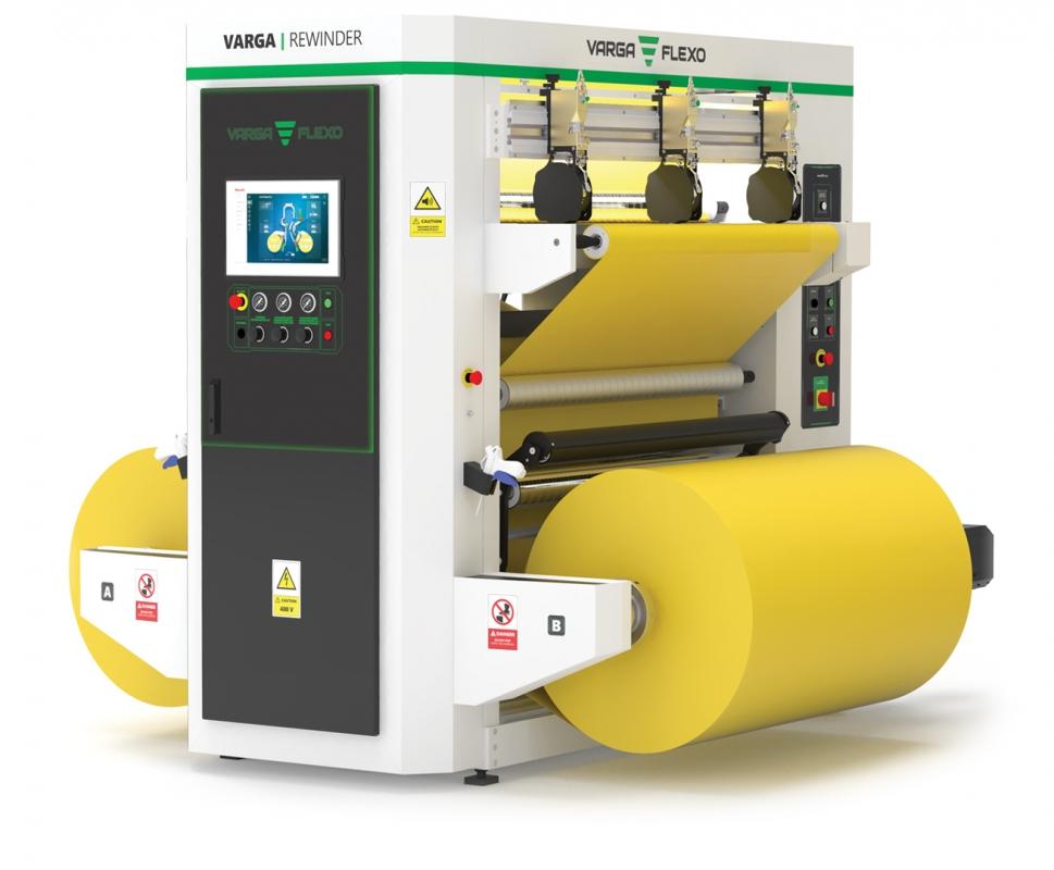 Flexonyomógépek, tekercsvágók, laminálók gyártása | Áttekercselés
