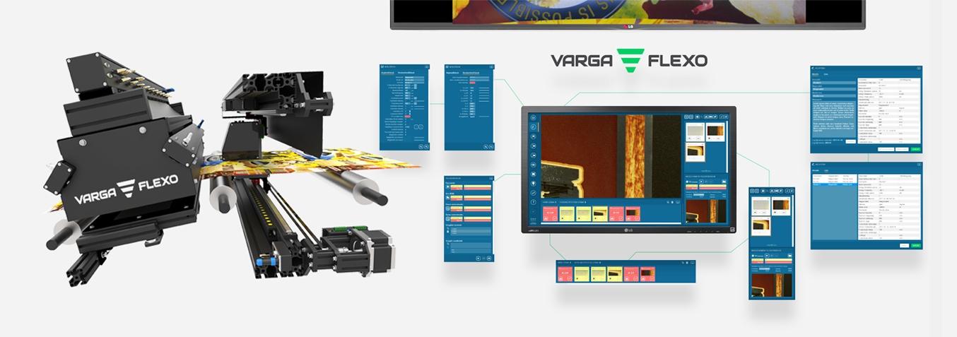 Flexonyomógépek, tekercsvágók, laminálók gyártása | Система видеоинспекции