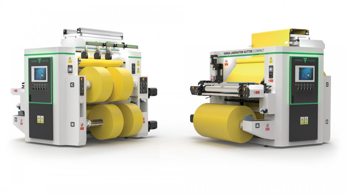 Flexonyomógépek, tekercsvágók, laminálók gyártása   Two machines for one price